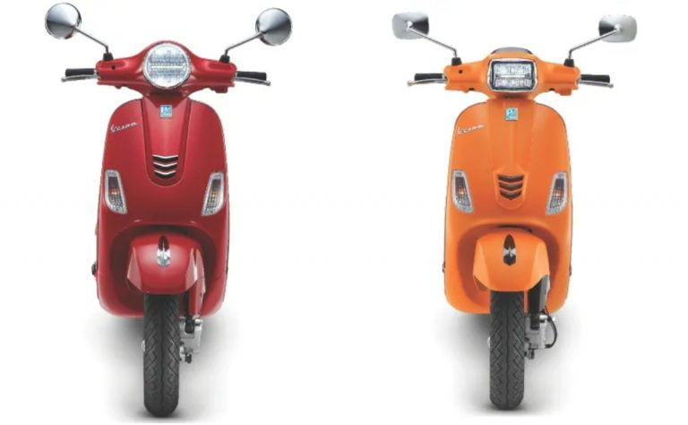 BS6 Piaggio Vespa VXL and SXL 125 and 150 Facelifts Launched – Price and Details