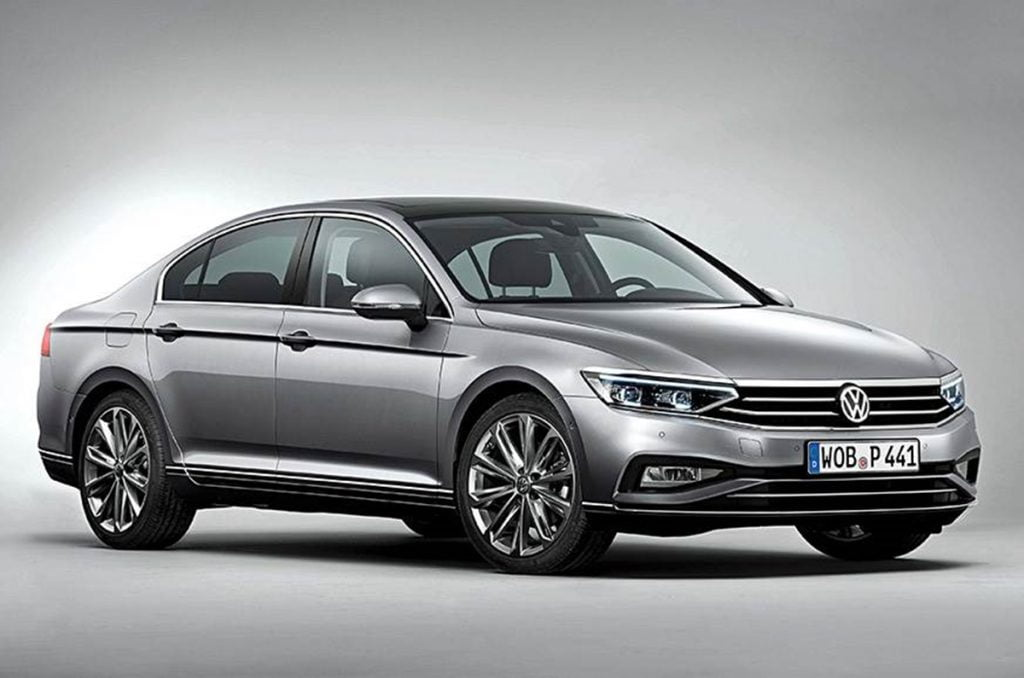 This is how the top-spec Volkswagen Passat looks like in top-spec trim as its sold abroad.
