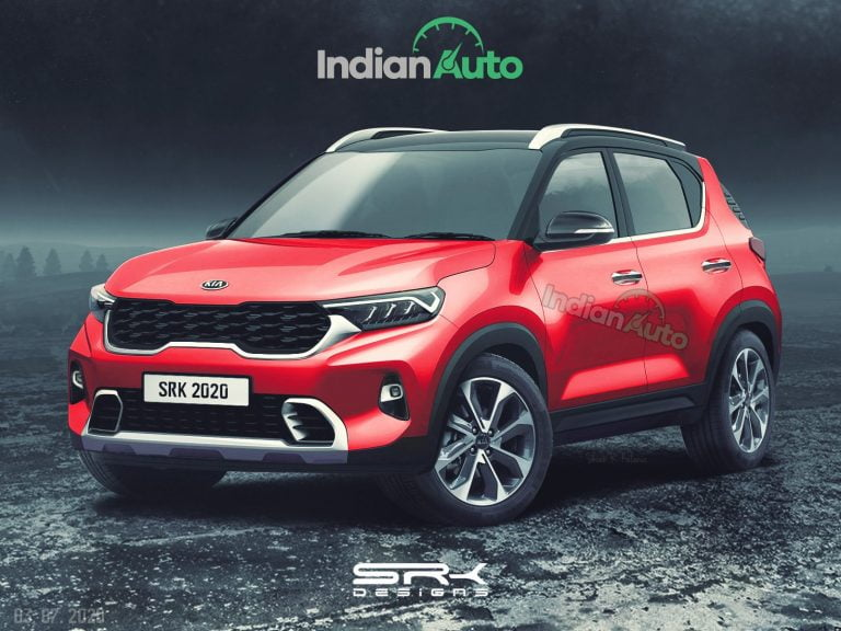 Here's How The Kia Sonet Could Look Like – Digital Rendering
