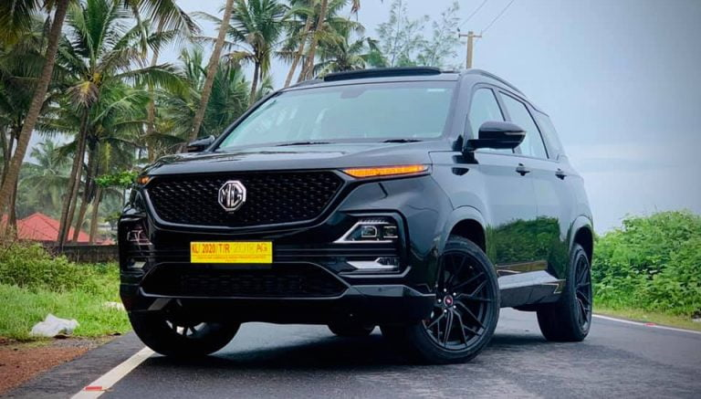 Here Is An All Black Modified MG Hector That Looks Amazing!