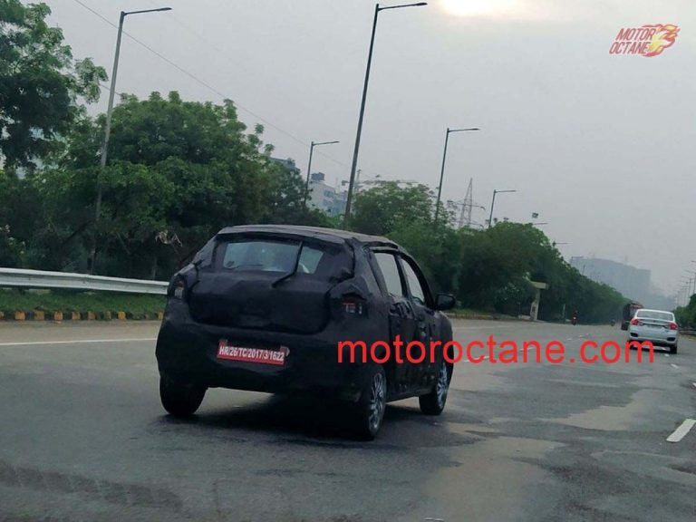 2021 New Generation Maruti Suzuki Celerio Spied Testing In India