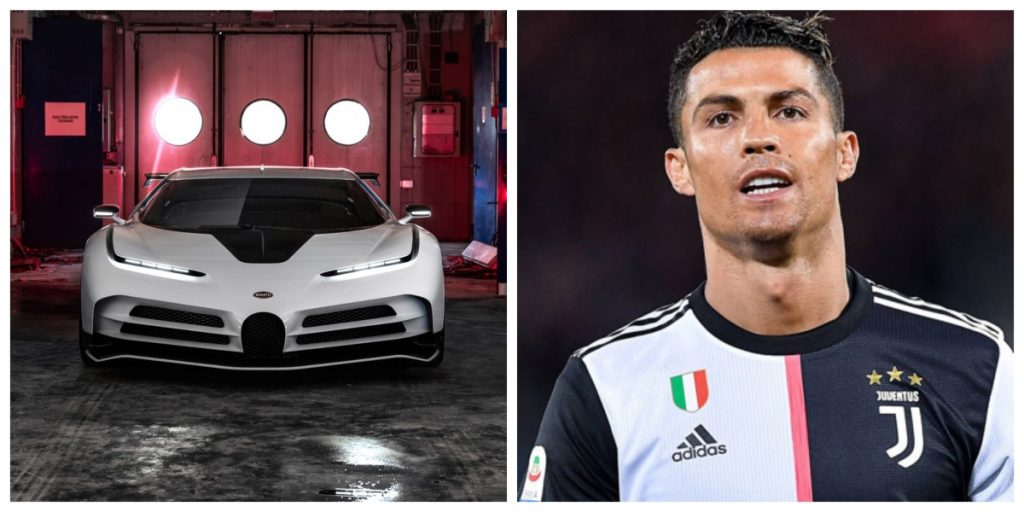 Football Star Christiano Ronaldo has added a £8.5 million worth Bugatti Centodieci to his car collection.