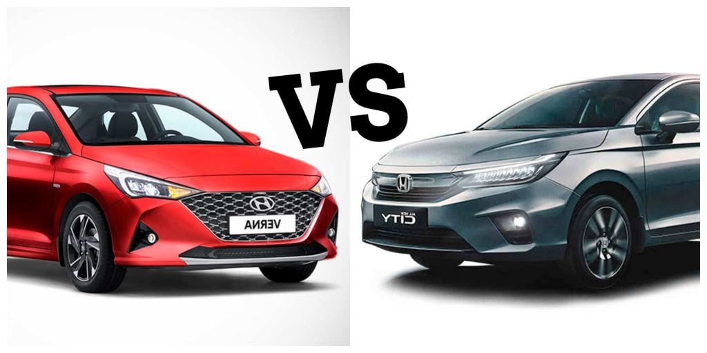 Hyundai Verna vs Honda City - 0-100 kph acceleration test.
