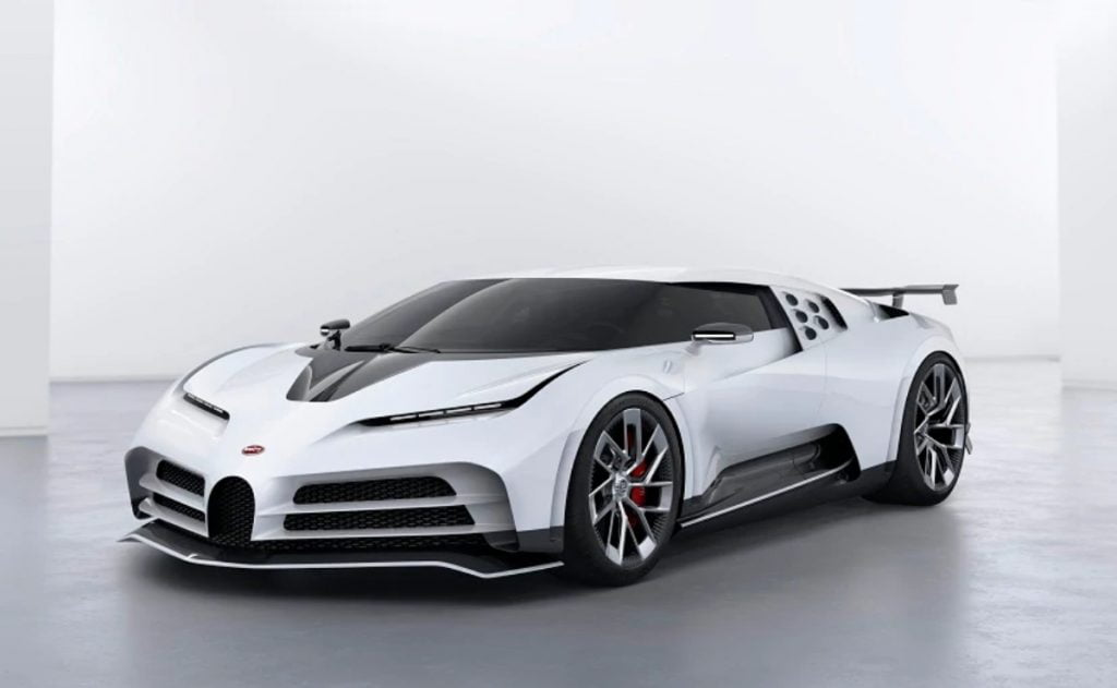 The Centodieci is a hypercar based on the Bugatti Chiron that was built to pay homage to the Bugatti EB110
