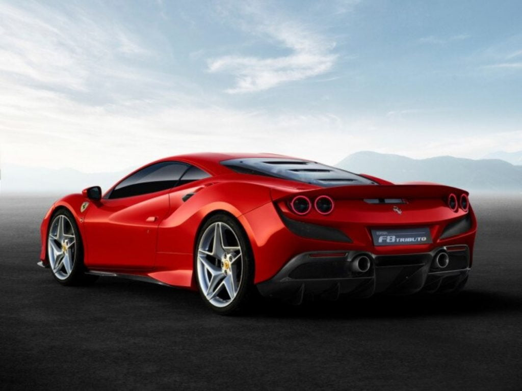 The styling is no carry forward from the 488GTB and all the body panels have been freshly designed.