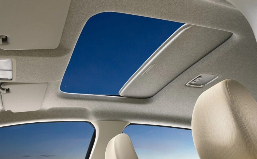 The Jazz is now the only hatchback in the segment to come with a one-touch electric sunroof.