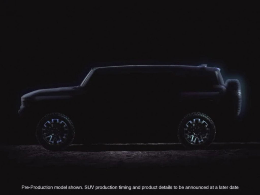 GMC will be unveiling the new Hummer EV by December this year.