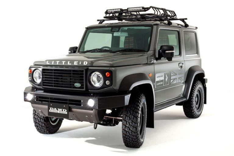 Is This a Jimny or a Defender? Or Perhaps The Best of Both!