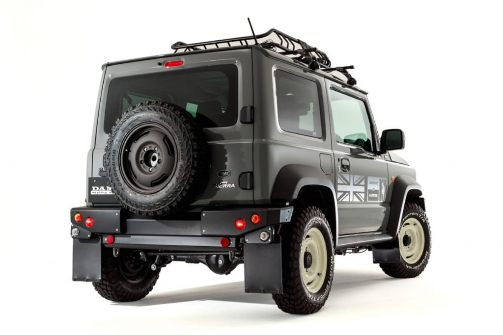 There however seems to be no mechanical change in terms of off-road hardware or even under the hood.