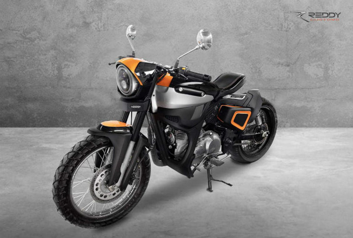 Would You Believe This Modified Bike Was A Royal Enfield Classic 350