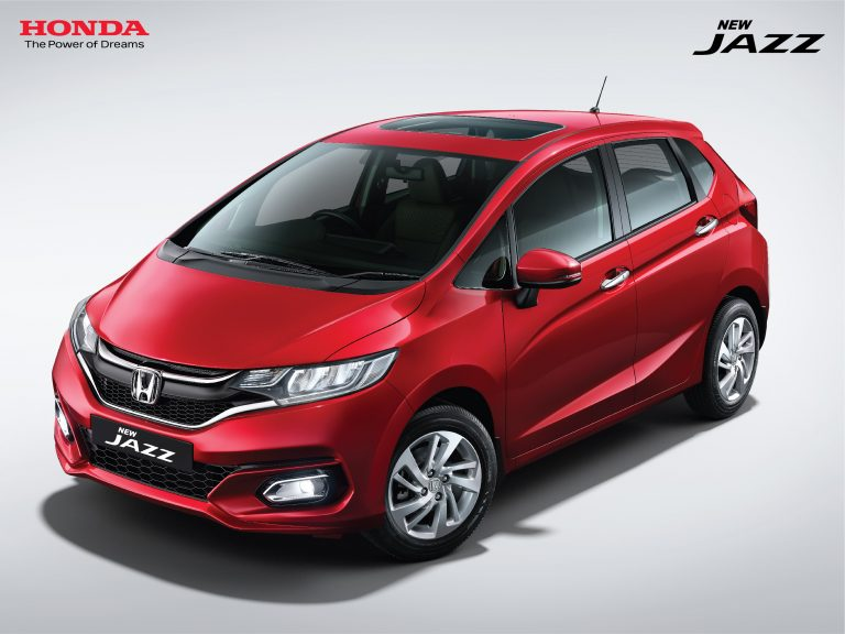 BS6 Honda Jazz Bookings Open; Gets Electric Sunroof And Paddle Shifters