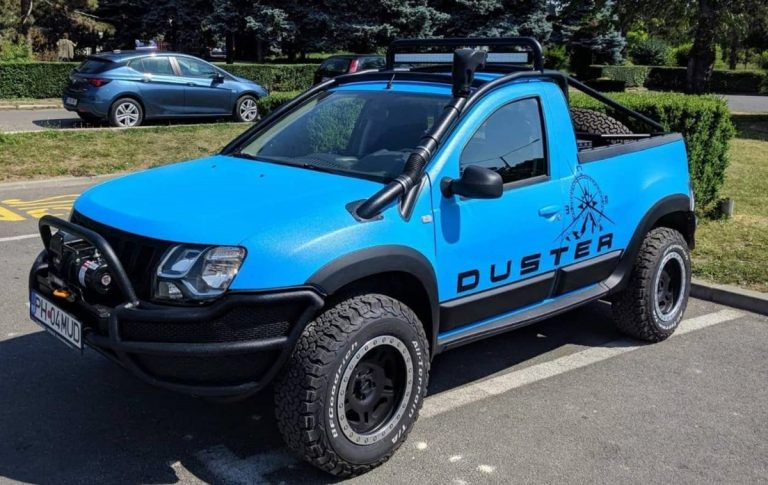Check Out This Amazing Renault Duster Modified Into a Pickup Truck!