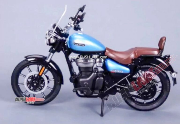 Royal Enfield Meteor 350 Variant and Colors Revealed!
