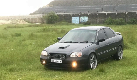 Check Out This Modified Maruti Baleno Almost Reaching 200 Km/Hr!