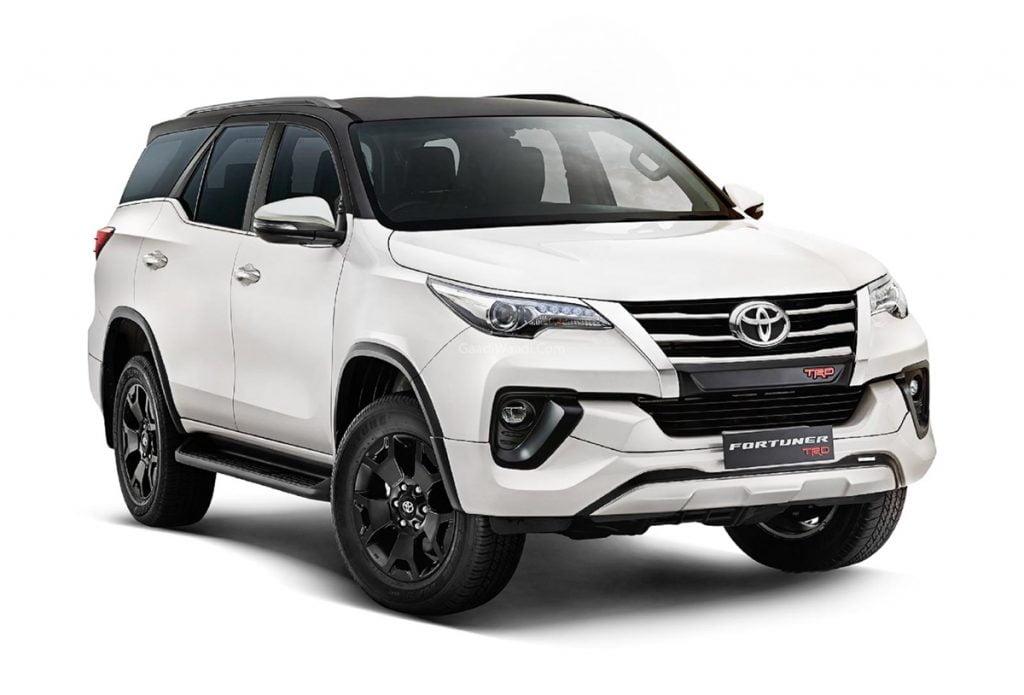 Toyota a lancé l'édition limitée Fortuner TRD en Inde pour un prix de départ de Rs 34,98 lakh