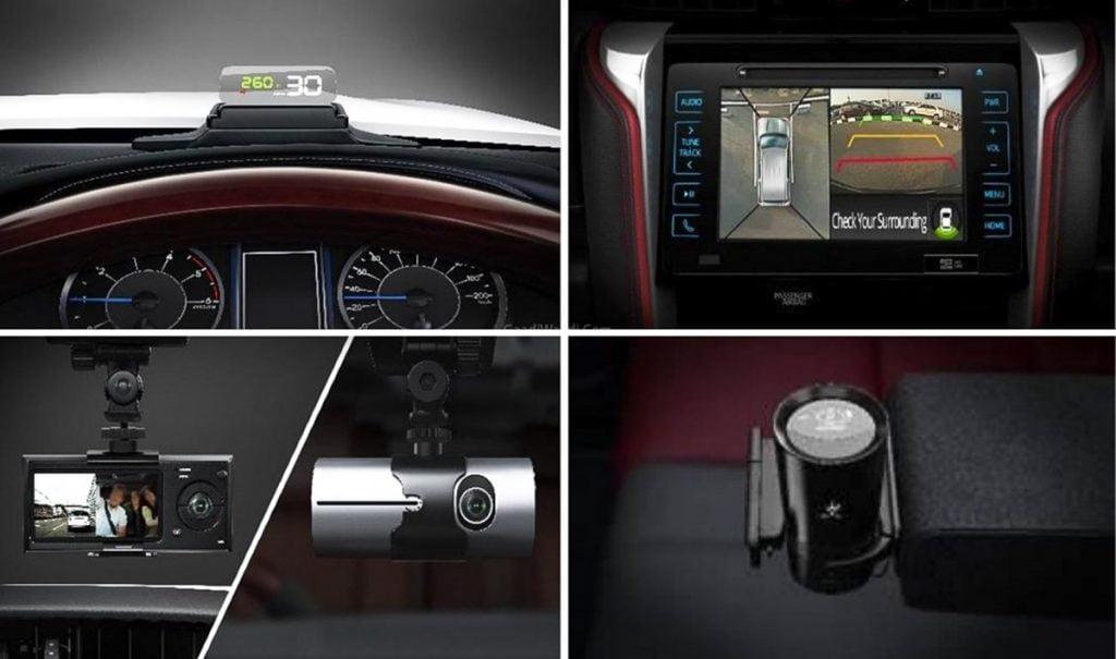 Toyota propose un pack Technologie spécial avec l'édition TRD qui apporte de nombreuses fonctionnalités haut de gamme.
