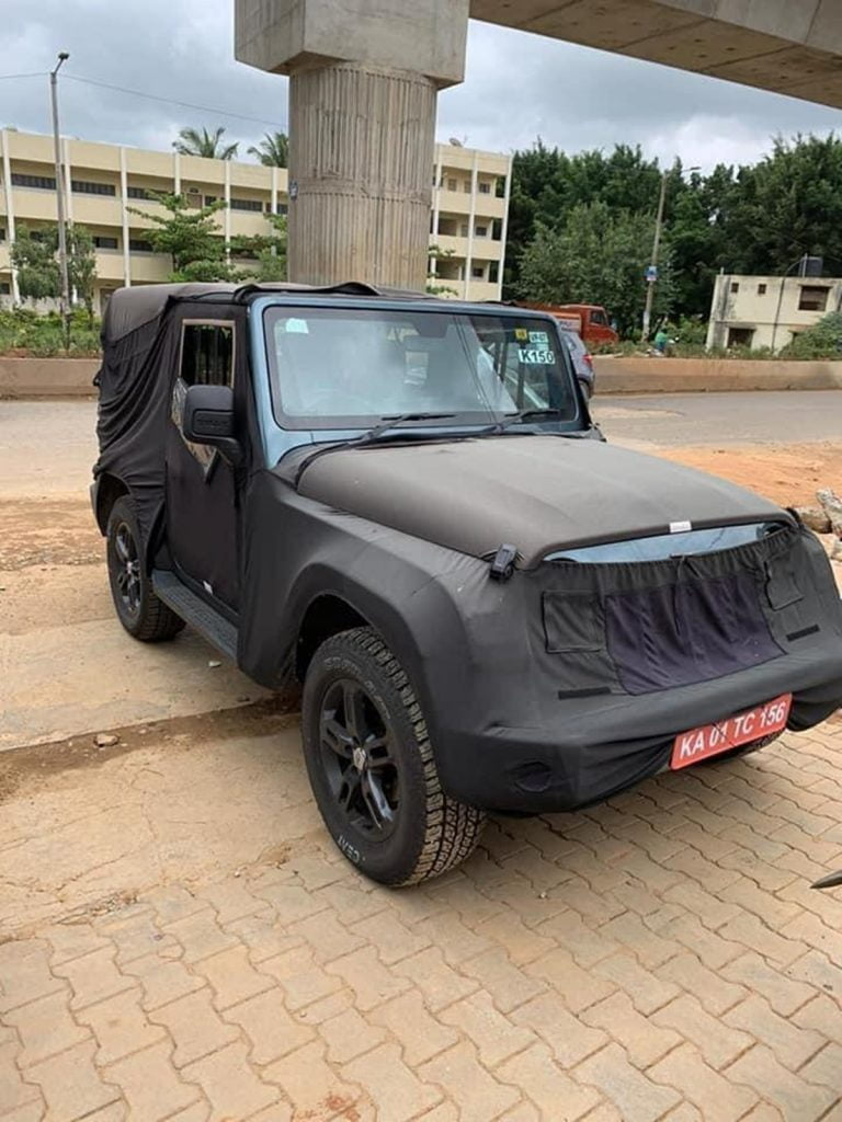 We Promise These Are The Last Spy Images of the new Mahindra Thar!
