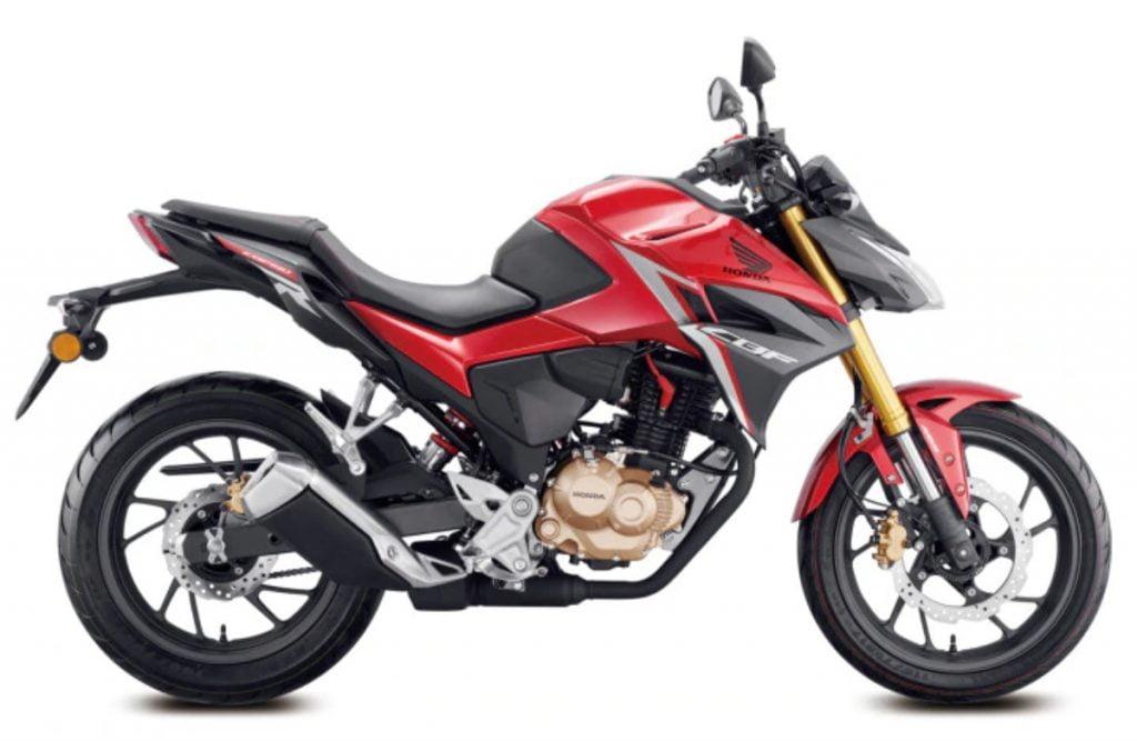 Honda est le plus susceptible de mettre à jour la CB Hornet 160R en une plus grosse moto de 200 cm3.