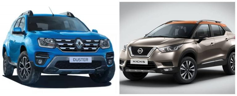 Renault Duster Turbo Vs Nissan Kicks Turbo – Detailed Price Difference