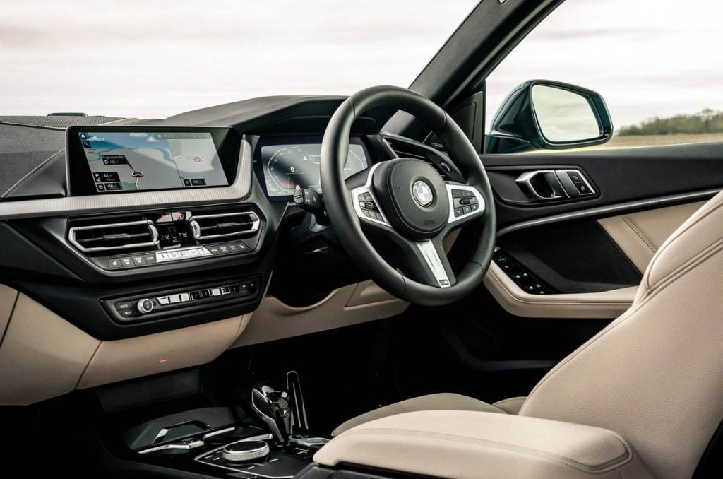 BMW 2 Series Gran Coupe interiors.
