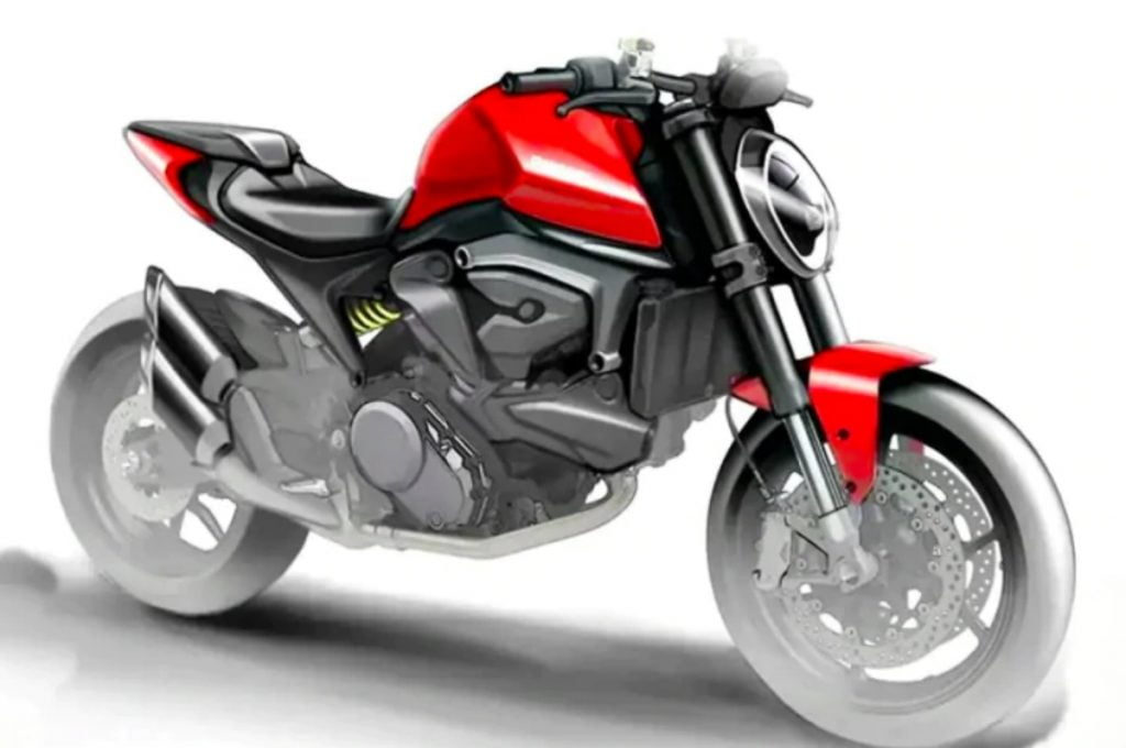 There are some new design sketches of the upcoming Ducati Monster 821 and they reveal a lot about the motorcycle.
