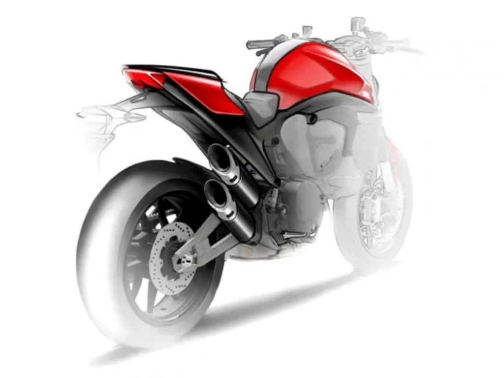 The biggest and most important change on the new Monster 821 is the use of a new aluminium spar frame