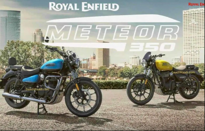 The launch of the Royal Enfield Meteor 350 is just round the corner.