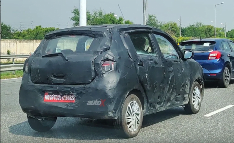 Next-Gen Maruti Suzuki Celerio Spied Up Close for the First Time!