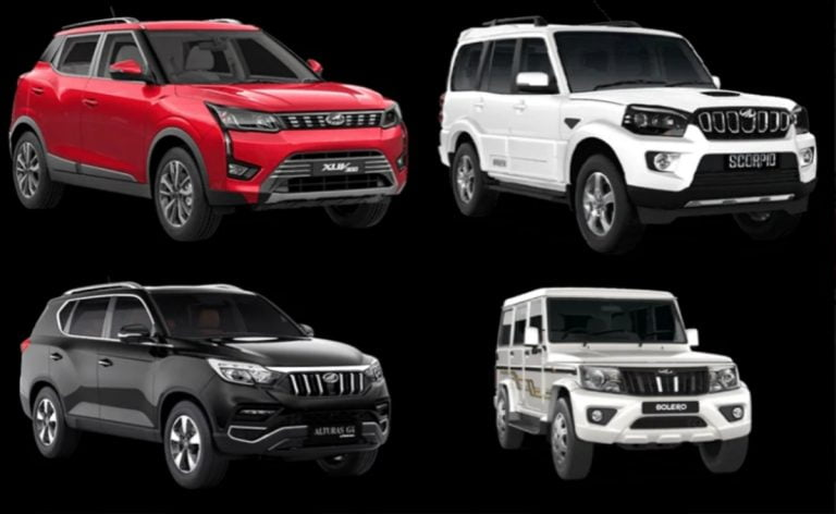 Enjoy Benefits and Discounts of up to Rs 3 lakh on Mahindra SUVs This Month!