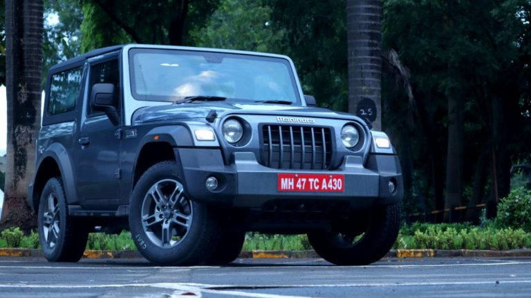 New-Gen Mahindra Thar Bookings to Open from October 2, 2020!