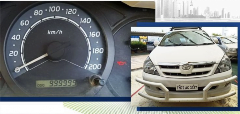 Check Out This Toyota Innova That Has Done More Than 10 Lakh Kilometres