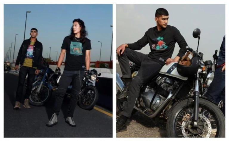 Royal Enfield Launches New Apparel Collection With Levi's