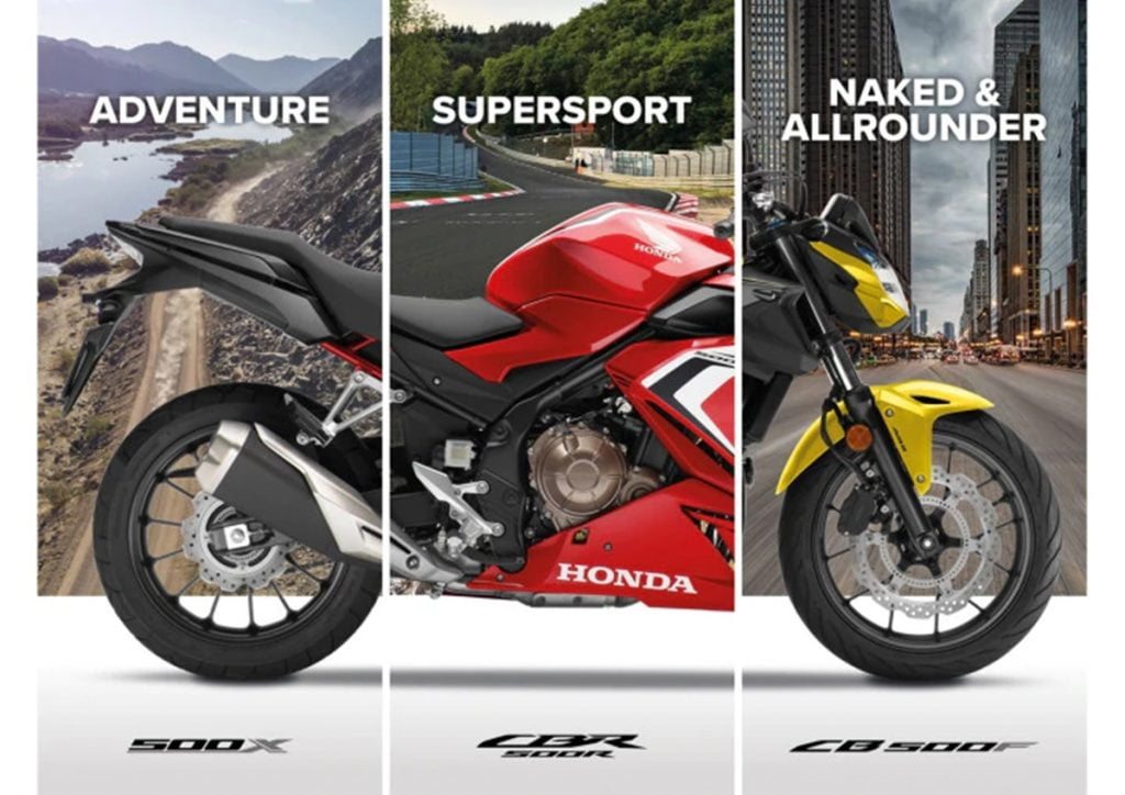 Honda has a new motorcycle coming up for a launch on September 30 and we expect it to be Honda's new 500cc range.