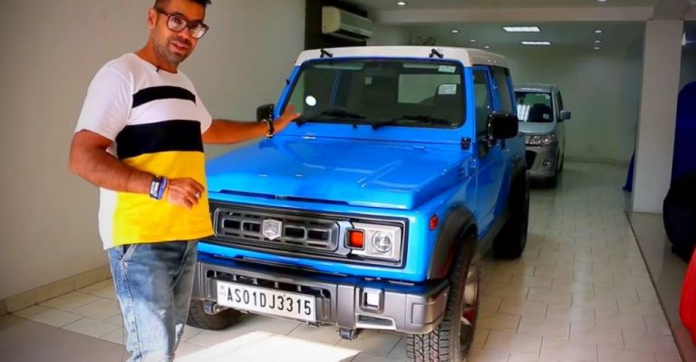Check Out This Unique Modified Maruti Suzuki Gypsy Like No Other!