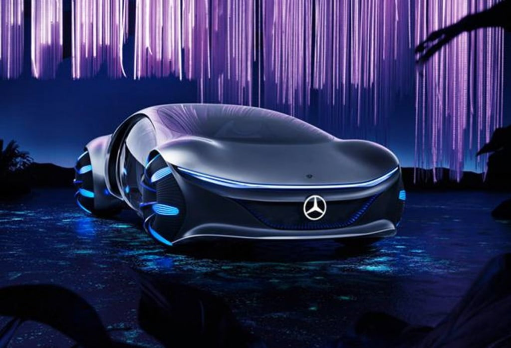 Mercedes has now released some driving footages of the AVTR concept