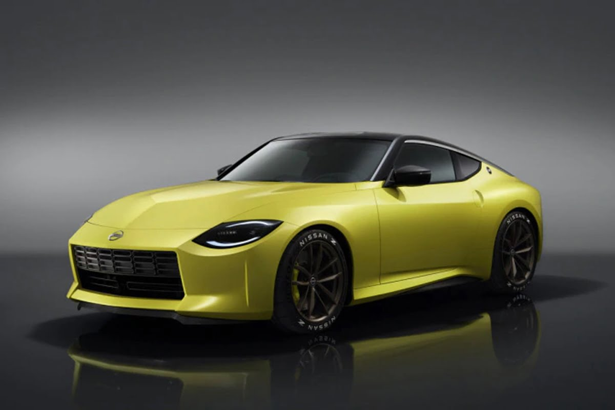 nissan z proto concept unveiled previews 370z successor
