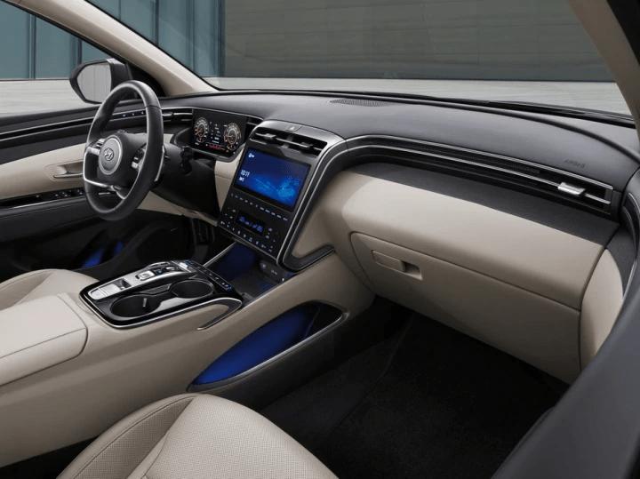 2021 Hyundai Tucson interiors.