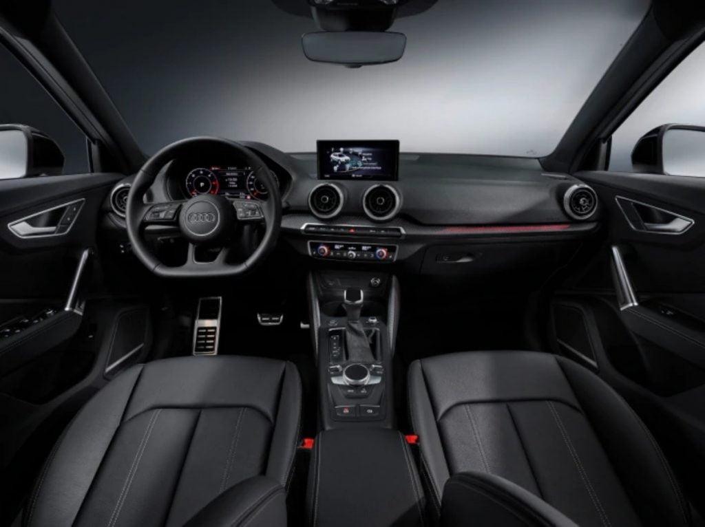 Updated Audi Q2 interiors.