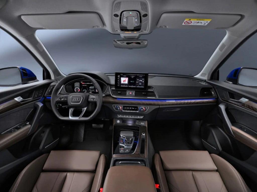 Audi Q5 Sportback interiors.