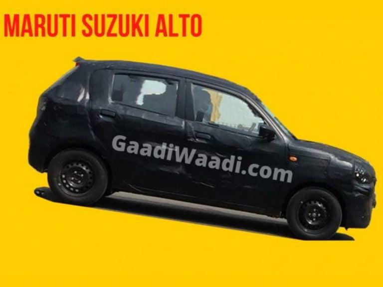 Next-gen Maruti Suzuki Alto Spied Testing for the First Time!
