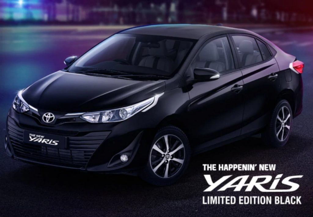 Toyota has revealed a new Yaris Limited Black Edition for India.