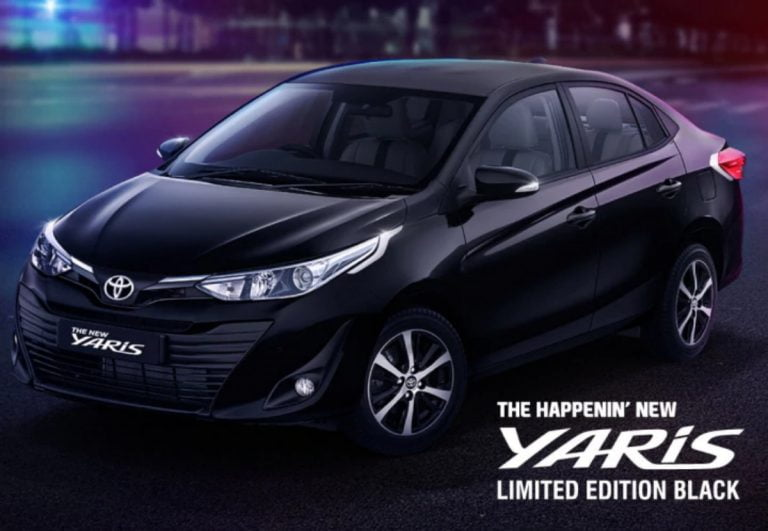 Toyota Yaris Limited Black Edition is Coming Soon!