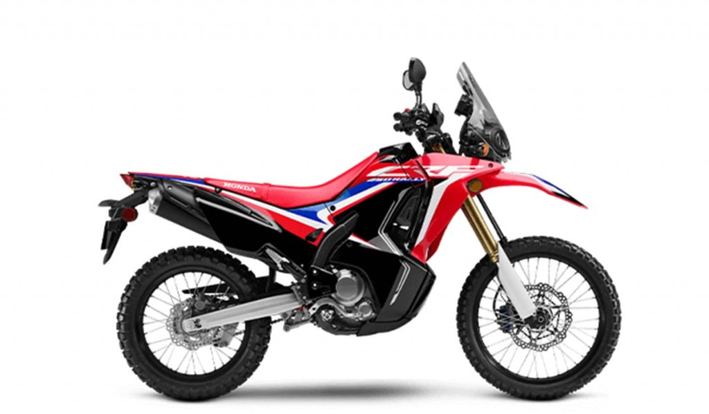 This adventure motorcycle could draw design inspiration from the CRF 250L range sold abroad.