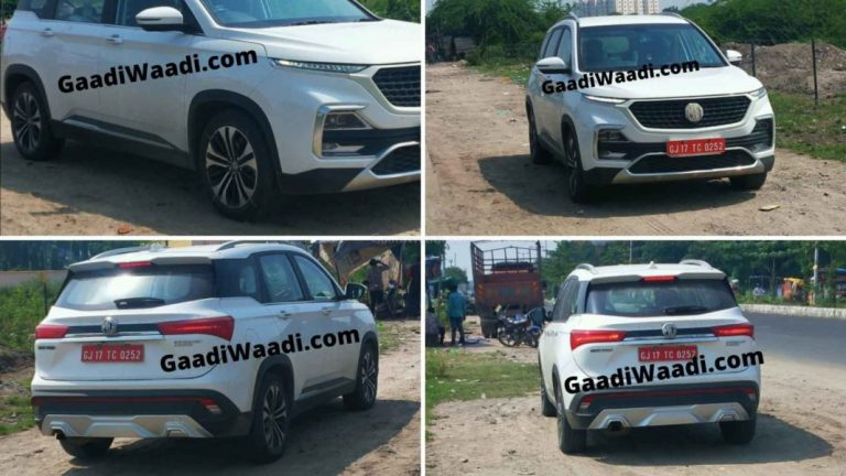 MG Hector Facelift Spotted Testing – What Changes Will It Get?