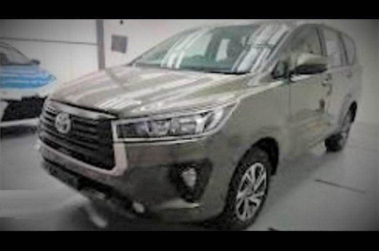 There's a Facelift Coming for the Toyota Innova Crysta Soon!