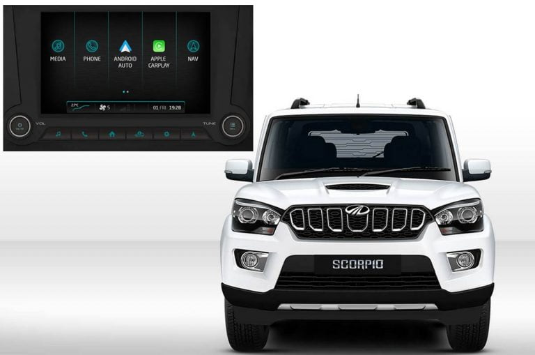 Mahindra Scorpio Finally Available with Android Auto and Apple CarPlay!