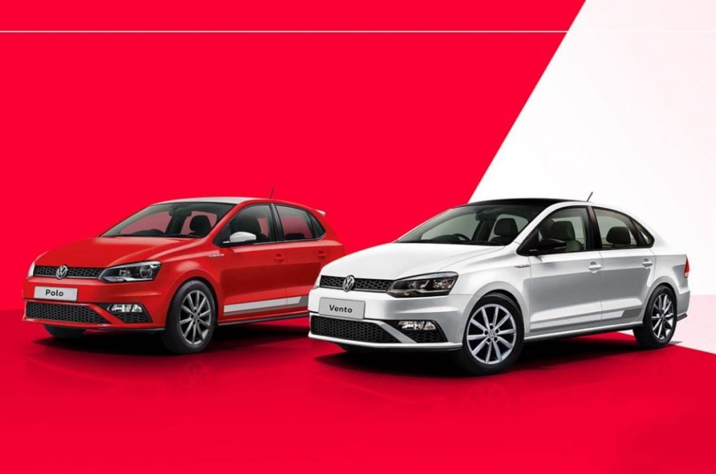 Volkswagen has launched special Red and White Edition of both the Polo and Vento in India.