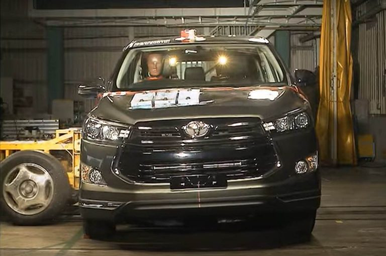 2020 Toyota Innova Awarded a 5-star Safety Rrating by ASEAN NCAP!