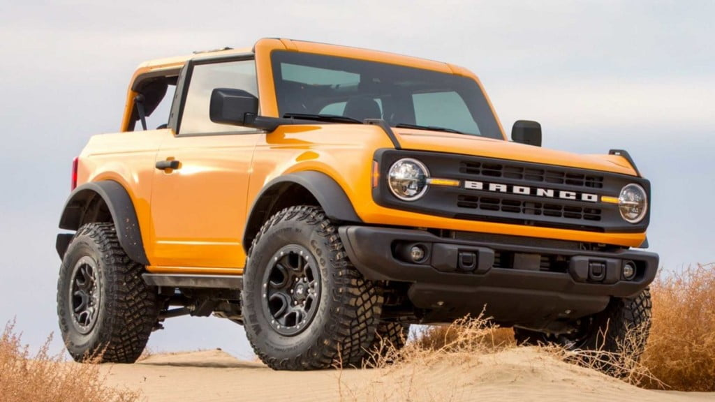 The Bronco nameplate was recently revived in Ford's global portfolio after years of absence.