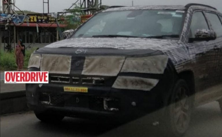 Seven-Seater Jeep Compass Spied Again Before Launch Next Year!